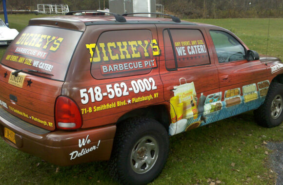 Dickey's Barbecue Vehicle Wrap