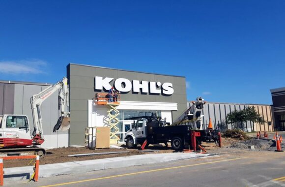 KOHLS SIGN BY DANIELS SIGNS